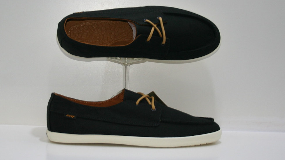 Tenis Reef Cab Deckhand Low Black