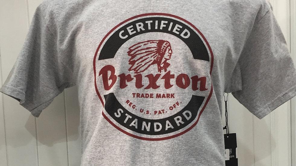 Playera Brixton  Soto  Standart Fit 90% algodón 10% poliester