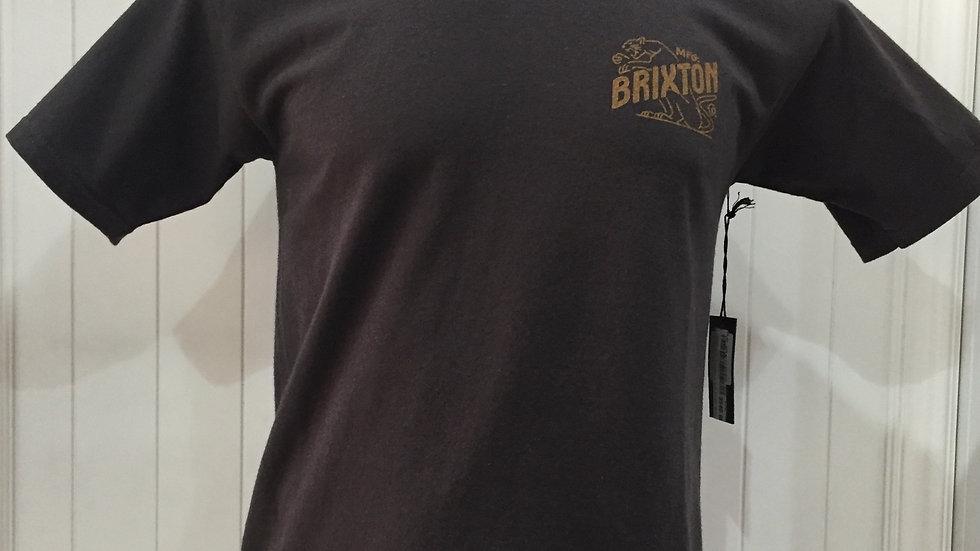 Playera Brixton MFG, STANDART FIT, 100% algodón