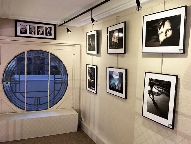 Expositions du magasin d'optique Virginie Brunel optique