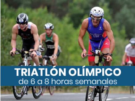 Triatlón Olímpico - 6 a 8hs semanales