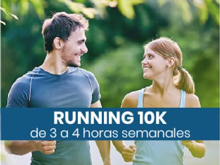Running 10k - 3 a 4hs semanales