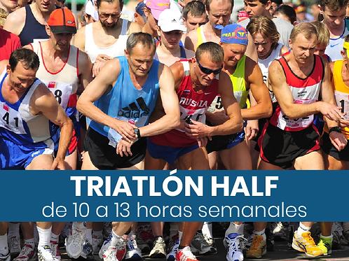 Triatlón Half - 10 a 13hs semanales