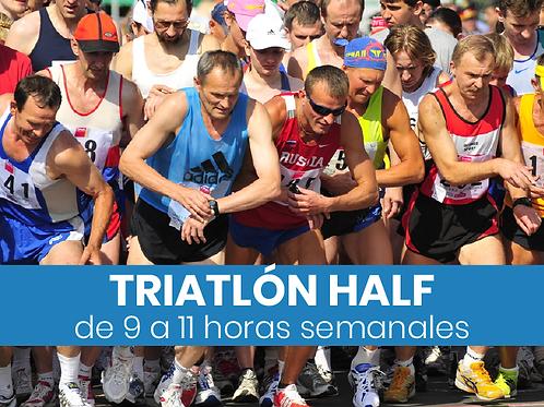 Triatlón Half - 9 a 11hs semanales