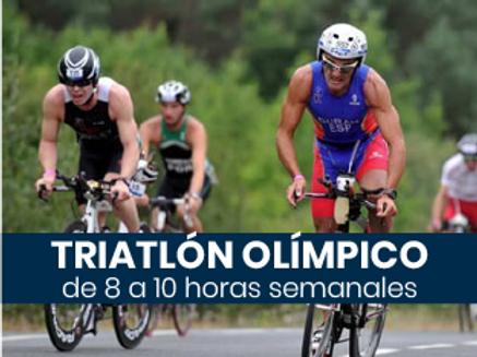 Triatlón Olímpico - 8 a 10hs semanales