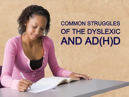 Key Struggles Linked to the Dyslexic Mind