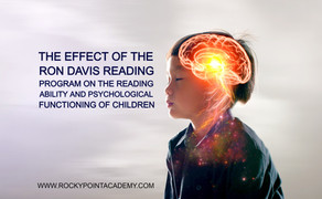 The Effect of the Davis Program on the Reading Ability & Psychological Functioning of Children