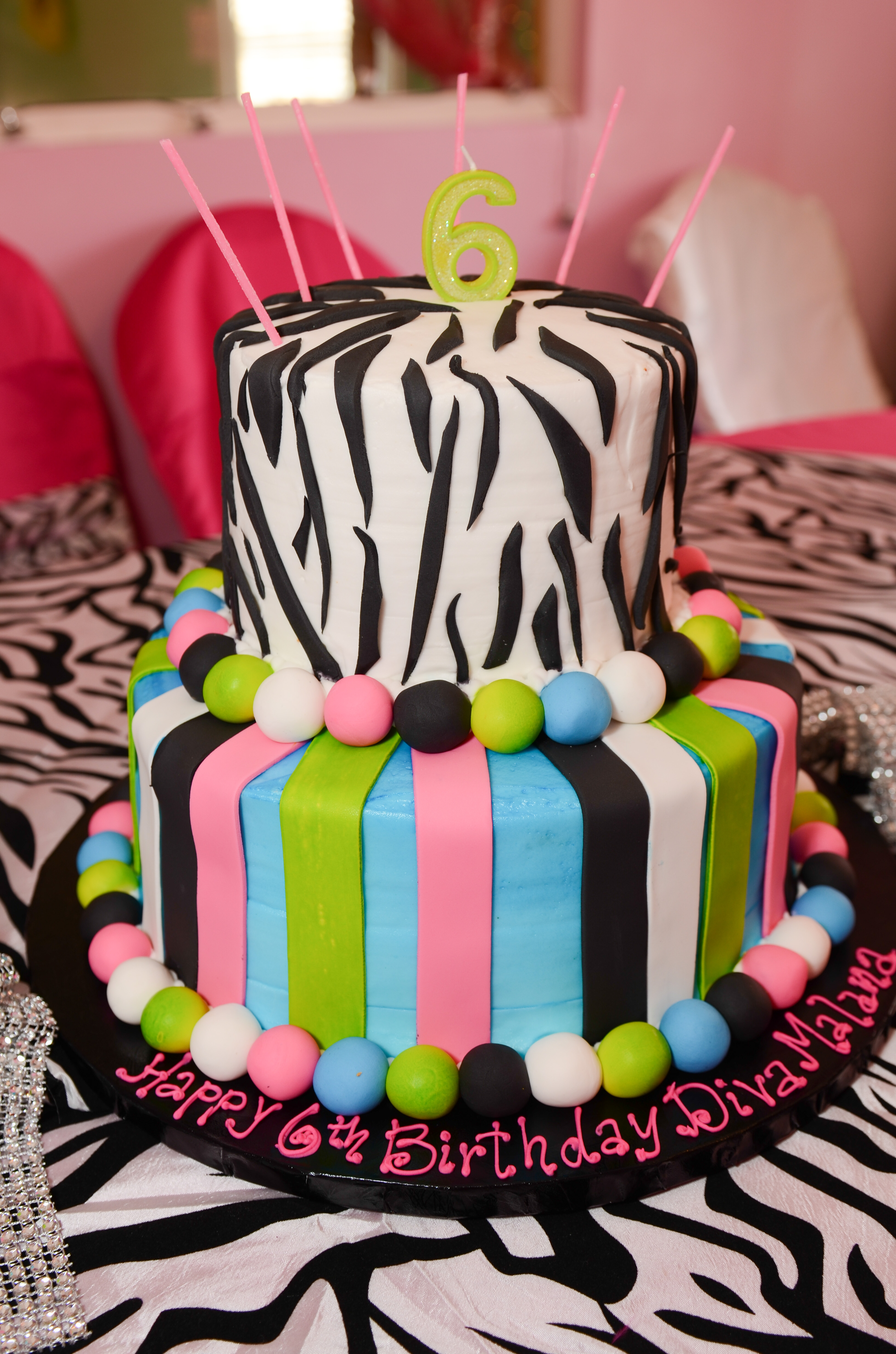 Customized birthday cakes