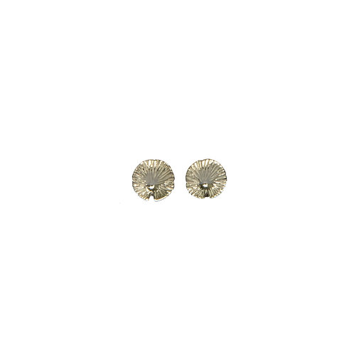 NYMPHEA SOLO STUDS SILVER