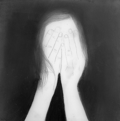 Lápiz sobre papel mylar, 11 x 11 cm, 2015.