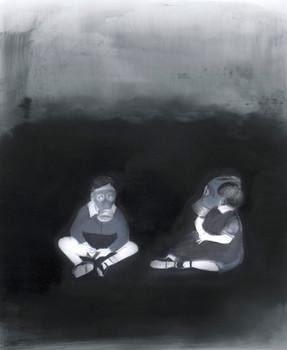 Lápiz y óleo sobre papel mylar, 27 x 20 cm, 2016.