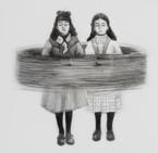 La vorágine calma, lápiz sobre papel mylar, 13 x 13 cm, 2017.