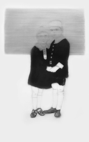 Lápiz sobre papel mylar, 15 x 10 cm, 2016.