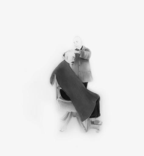 Lápiz sobre papel mylar, 21 x 19 cm, 2015.