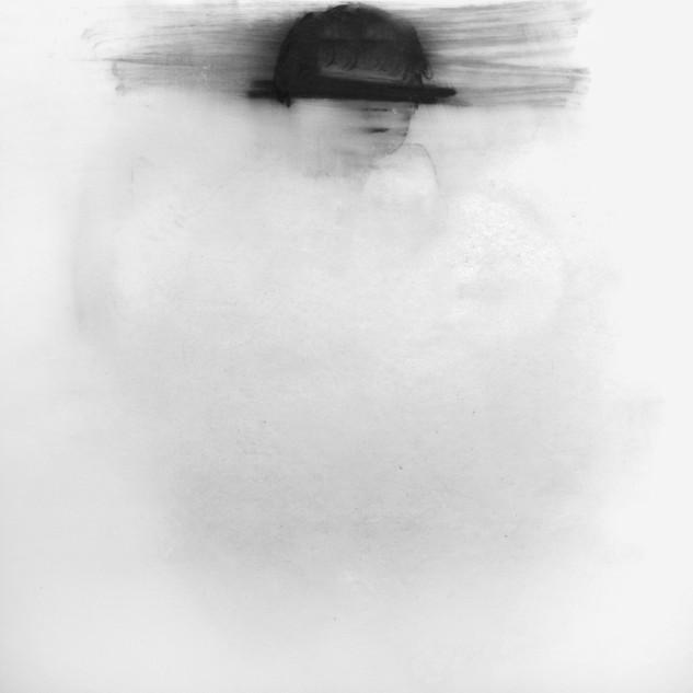 Lápiz y óleo sobre papel pergamino, 22 x 21 cm, 2011