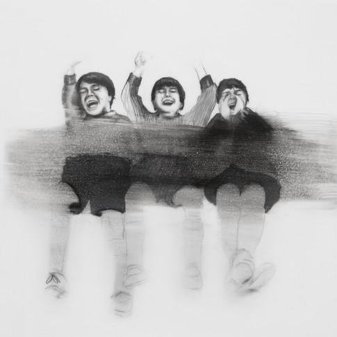 Lápiz sobre papel mylar, 27 x 29 cm, 2018.