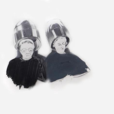Lápiz sobre papel mylar, 21 x 21 cm, 2011.