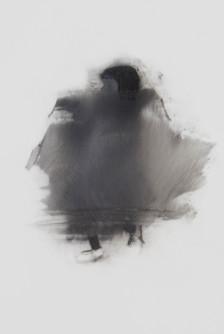 Lápiz y óleo sobre papel mylar, 17 x 10 cm, 2017.