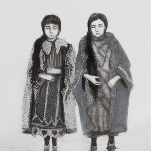 Lápiz sobre papel mylar, 13 x 12 cm, 2017.