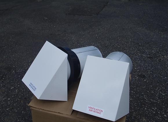SV1607100 Metal Hood Kit w/ Collars