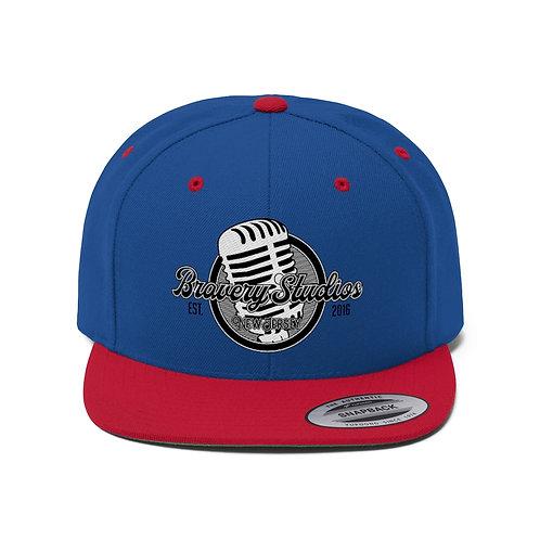 Bravery Studios Unisex Flat Bill Hat