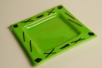 Small Apple Green Plate