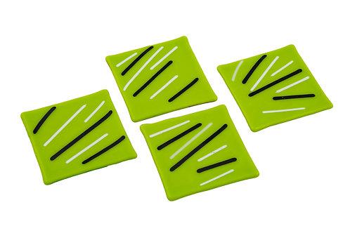 Apple Green Coasters