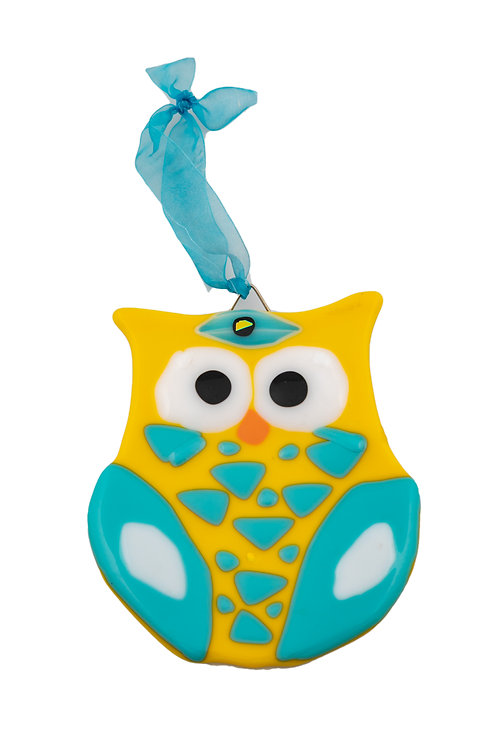 Yellow and Blue Owl