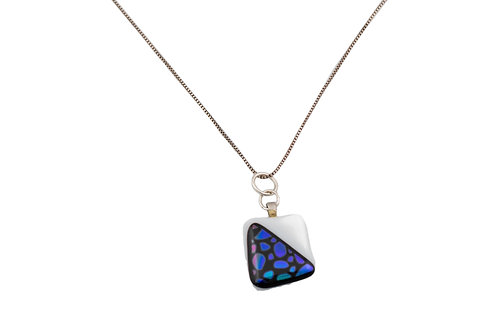 Black and white with Blue Dichroic delight