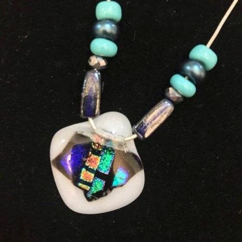 Diamond Shaped Sparkly  Necklace