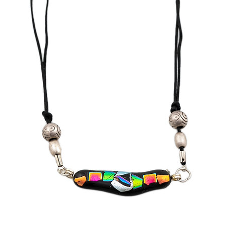 Dichroic  Choker Necklace