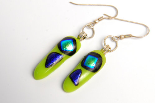 Spring Green. Earrings
