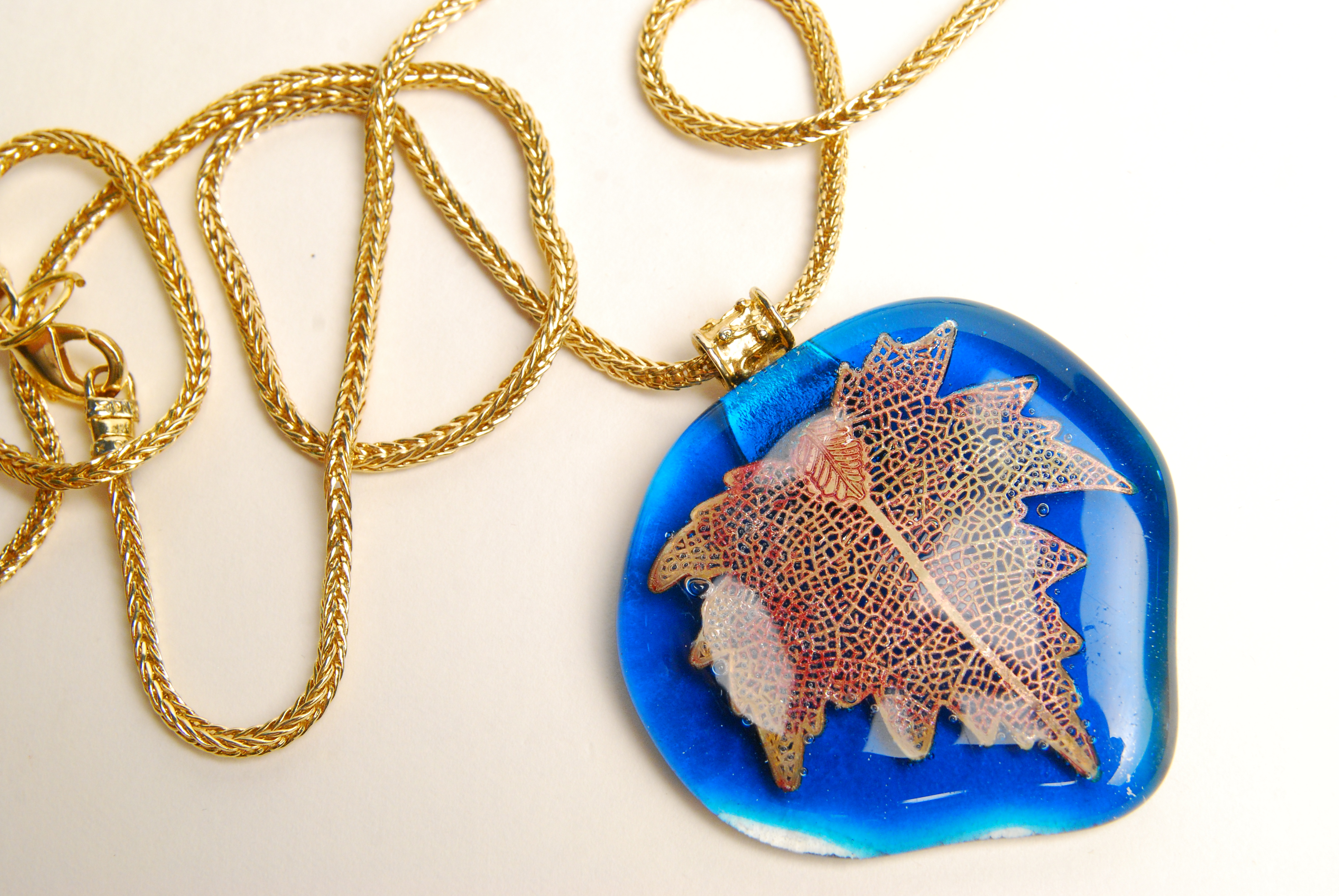 Large Leaf Pendant