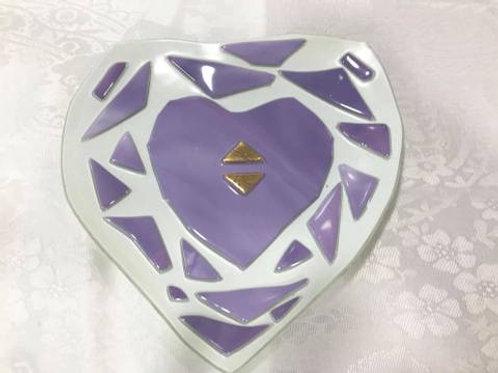 Small little heart plate