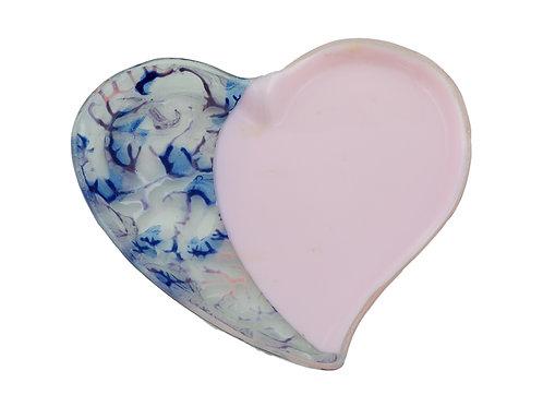 Pink Heart plate