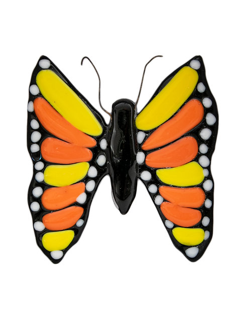 Yellow and Orange Butterfly