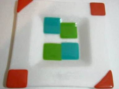White  Sqaure Plate
