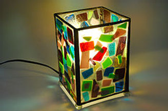 Multicolored Table Lamp