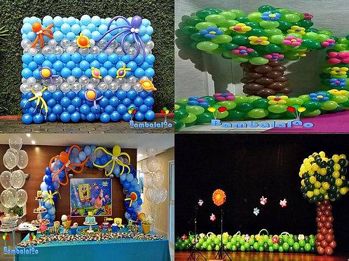 Curso Decoração com Balões nível II