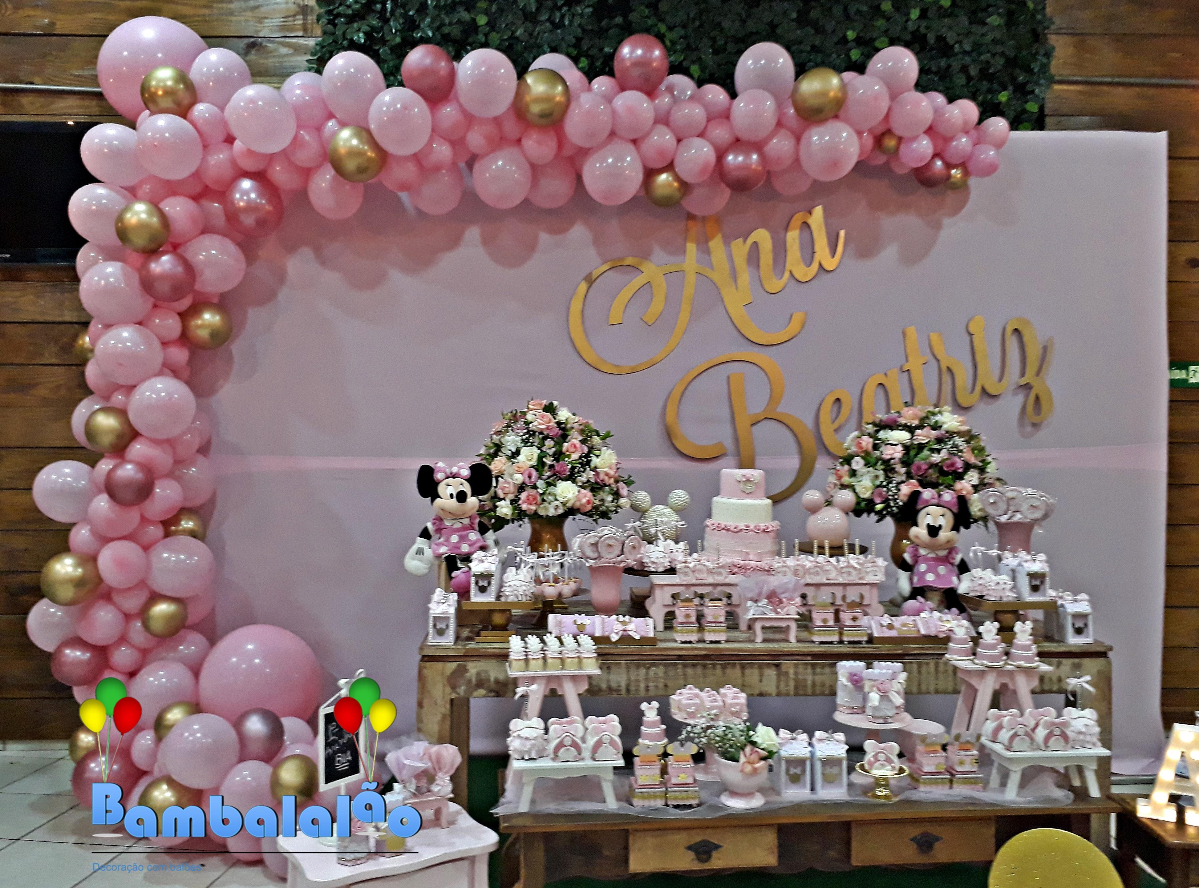 Bambalal u00e3o Decoraç u00e3o com balões Fotos de balões festa infantil # Decoração De Festa Com Balões No Teto