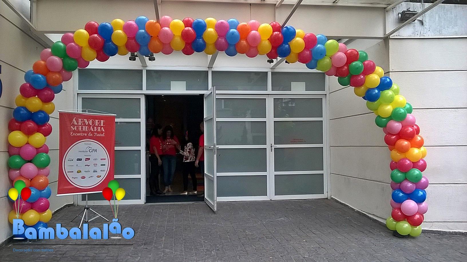 ARCO BALÕES ENTRADA G.P.A