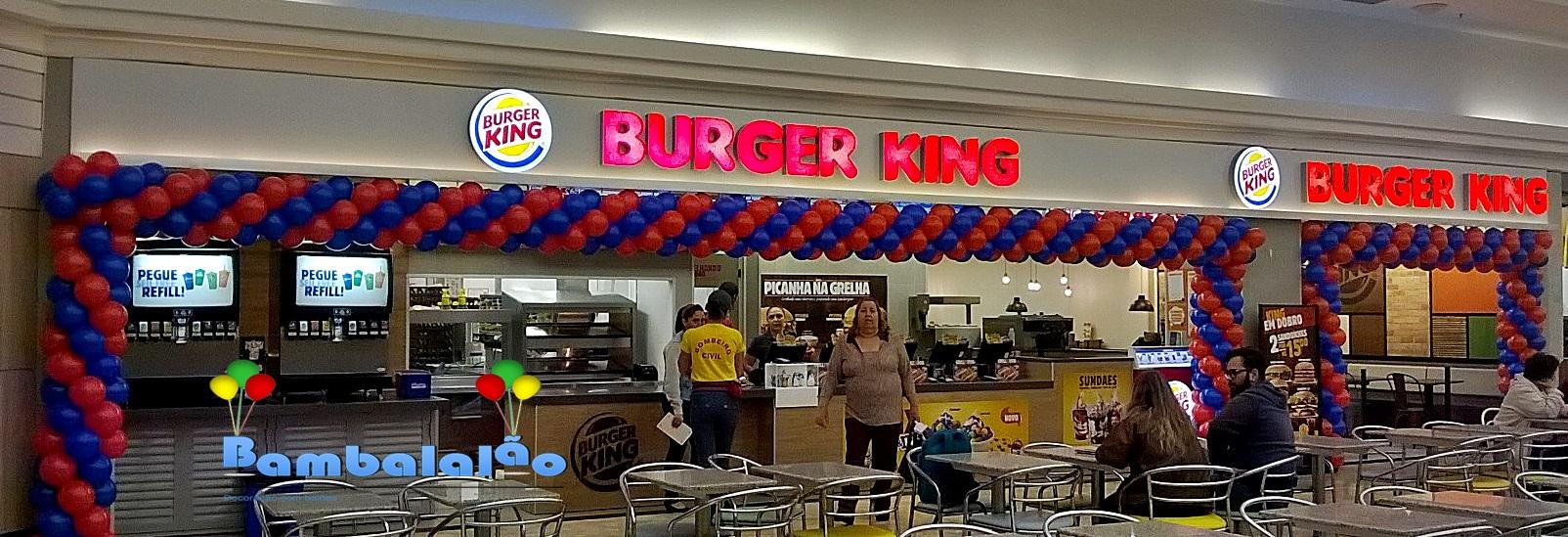 DECORAÇÃO BURGER KING