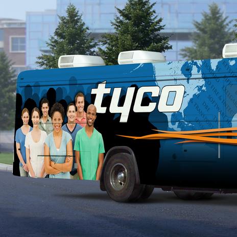 Tyco Bus Wrap