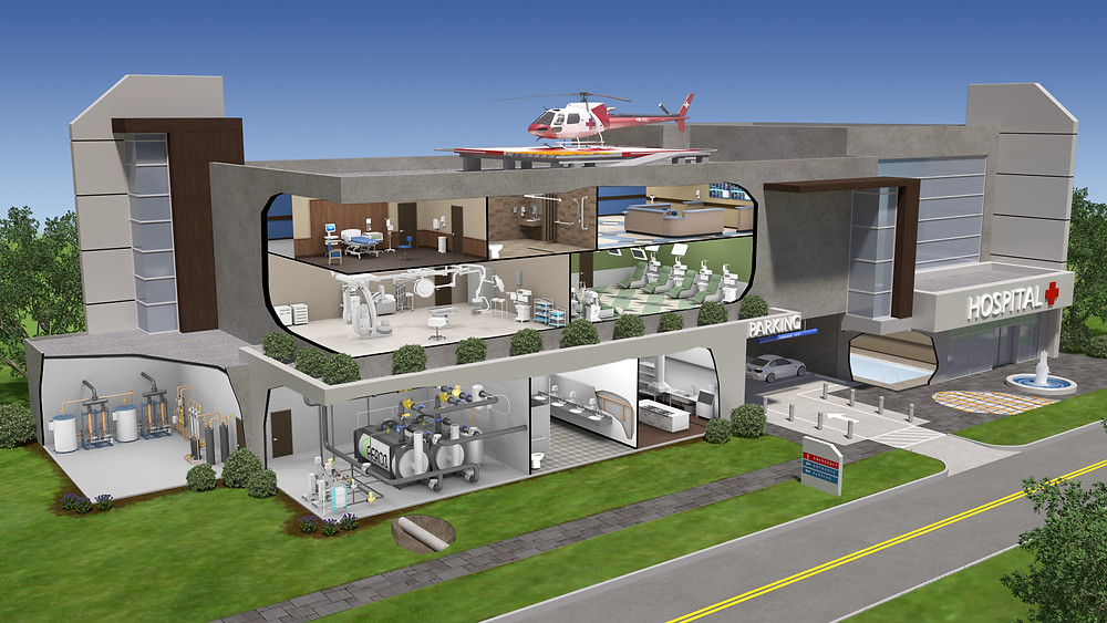 Terrell Theen SpectroMotion Advanced Visualization Water Technology 3D Visualization Health Care Facility