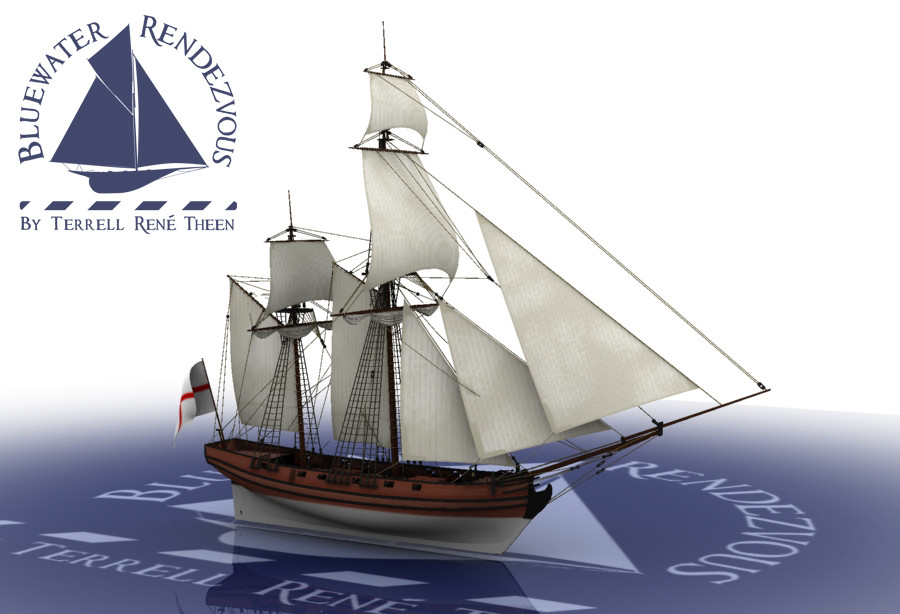 Terrell René Theen Bluewater Rendezvous Privateering Ketch
