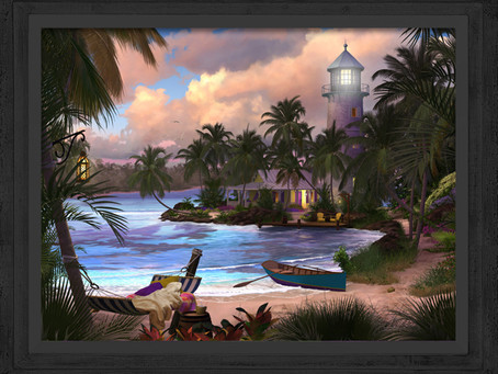 New Release!! Paradise Island lighthouse
