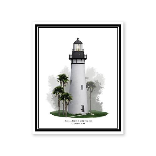Amelia Island Lighthouse, Florida