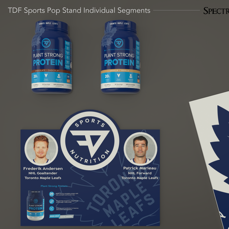 POP Stand Design and Graphic Design
