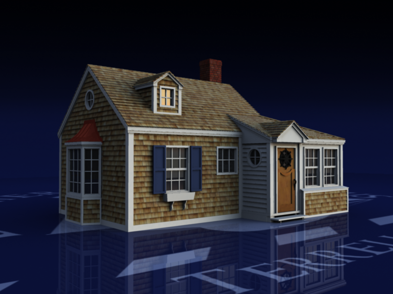 Terrell Rene Theen Cozy New England Seaside Cottage