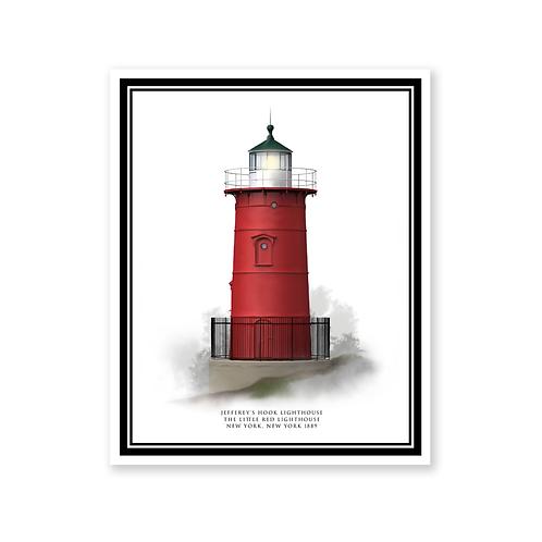 Little Red Lighthouse, New York